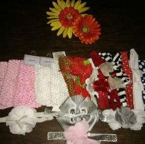 Other - Baby Girl Newborn Headbands
